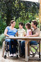 A family Stock Photo - Premium Royalty-Freenull, Code: 6114-06661855