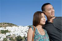 Couple sightseeing Stock Photo - Premium Royalty-Freenull, Code: 6114-06662222