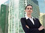 Portrait of a businesswoman Stock Photo - Premium Royalty-Free, Artist: CulturaRM, Code: 6114-06662820