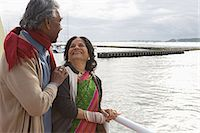 Couple on a boat trip Stock Photo - Premium Royalty-Freenull, Code: 6114-06664172