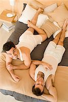 Portrait of a homosexual couple Stock Photo - Premium Royalty-Freenull, Code: 6114-06664268