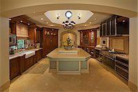 fridge - Classic Kitchen Stock Photo - Premium Royalty-Freenull, Code: 693-06667929