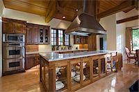 Classic Kitchen Stock Photo - Premium Royalty-Freenull, Code: 693-06667940