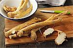 Fresh horseradish roots Stock Photo - Premium Royalty-Free, Artist: Cultura RM, Code: 659-06671127