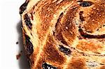 Toasted Slice of Cinnamon Raisin Bread Stock Photo - Premium Royalty-Freenull, Code: 659-06671181