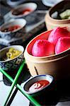 Asian Dim Sum Stock Photo - Premium Royalty-Free, Artist: Blend Images, Code: 659-06671184
