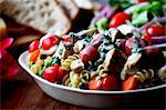 Pasta Salad with Grilled Chicken Stock Photo - Premium Royalty-Freenull, Code: 659-06671188