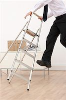 people falling - Work place accident. Stock Photo - Premium Royalty-Freenull, Code: 679-06673778