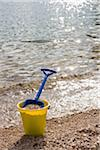 Shovel and bucket on the shore, Okanagan Valley, British Columbia, Canada Stock Photo - Premium Royalty-Free, Artist: Ivan Hunter, Code: 600-06674969