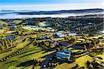Aerial view of a golf course and housing estate in wine country near Pokolbin, Hunter Valley, New South Wales, Australia Stock Photo - Premium Rights-Managed, Artist: R. Ian Lloyd, Code: 700-06675100