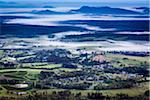 Aerial view of wine country near Pokolbin, Hunter Valley, New South Wales, Australia Stock Photo - Premium Rights-Managed, Artist: R. Ian Lloyd, Code: 700-06675125