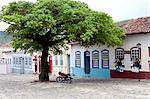 South America, Brazil, Goias, Cidade de Goias, view of Portuguese colonial houses on the Praca Brasil Caiado in the UNESCO World Heritage city of Old Goias Stock Photo - Premium Rights-Managed, Artist: AWL Images, Code: 862-06676000