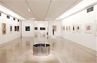 exhibition - South America, Brazil, Sao Paulo, the interior of the Museum of Contemporary Art, MAC, at the University of Sao Paulo in Butanta Stock Photo - Premium Rights-Managednull, Code: 862-06676100