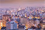 South America, Brazil, Sao Paulo, view from the top of the Terraco Italia Tower Stock Photo - Premium Rights-Managed, Artist: AWL Images, Code: 862-06676108