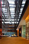 China, Beijing, Sanlitun Village. The lobby of The Opposite House hotel. Stock Photo - Premium Rights-Managed, Artist: AWL Images, Code: 862-06676162