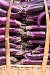 China, Yunnan, Xinping. Aubergines for sale near Xinping. Stock Photo - Premium Rights-Managed, Artist: AWL Images, Code: 862-06676234