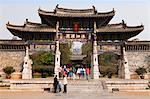China, Yunnan, Jianshui. Entrance to the Confucian Temple at Jianshui. Stock Photo - Premium Rights-Managed, Artist: AWL Images, Code: 862-06676258