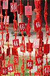 China, Yunnan, Jianshui. Lucky prayer tokens at the Confucian Temple at Jianshui. Stock Photo - Premium Rights-Managed, Artist: AWL Images, Code: 862-06676261