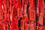 China, Yunnan, Jianshui. Lucky prayer tokens at the Confucian Temple at Jianshui. Stock Photo - Premium Rights-Managed, Artist: AWL Images, Code: 862-06676267