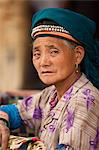 China, Yunnan, Yuanyang. A lady of the Hani ethnic minority group, Yuanyang. Stock Photo - Premium Rights-Managed, Artist: AWL Images, Code: 862-06676288
