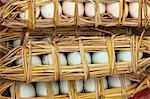 China, Yunnan, Yuanyang. Duck eggs wrapped in straw, Yuanyang. Stock Photo - Premium Rights-Managed, Artist: AWL Images, Code: 862-06676294