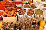 China, Yunnan, Jinghong. Sugar, spices and rice noodles for sale at Jinghong market. Stock Photo - Premium Rights-Managed, Artist: AWL Images, Code: 862-06676333