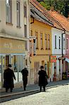 Czech Republic, South Moravia, Boskovice. Jews walking in the historical Jewish quarter Stock Photo - Premium Rights-Managed, Artist: AWL Images, Code: 862-06676597