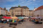 Brno, Moravia, Czech Republic. The vegetable market Stock Photo - Premium Rights-Managed, Artist: AWL Images, Code: 862-06676612