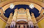 Europe, England, West Yorkshire, Leeds, Leeds Town Hall Stock Photo - Premium Rights-Managed, Artist: AWL Images, Code: 862-06676646