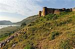 India, Rajasthan, Ajabgarh. Ancient Ajabgarh fort overloooks Ajabgarh village and the adjoining Jai Singh Sagar lake. Stock Photo - Premium Rights-Managed, Artist: AWL Images, Code: 862-06676834