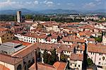 Italy, Lucca. A view over the city. Stock Photo - Premium Rights-Managed, Artist: AWL Images, Code: 862-06676876