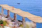 Italy, Campania, Salerno district, Peninsula of Sorrento, Positano. Hotel Le Sirenuse, terrace. Stock Photo - Premium Rights-Managed, Artist: AWL Images, Code: 862-06677014