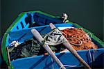 Italy, Campania, Bari. Detail of fishing boat Stock Photo - Premium Rights-Managed, Artist: AWL Images, Code: 862-06677038