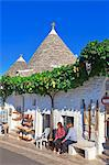Italy, Apulia, Bari district, Itria Valley. Alberobello. Trulli, typical houses, Stock Photo - Premium Rights-Managed, Artist: AWL Images, Code: 862-06677059