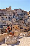 Italy, Basilicata, Matera district, Matera, Sassi di Matera, meaning stones of Matera, Stock Photo - Premium Rights-Managed, Artist: AWL Images, Code: 862-06677086
