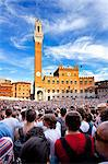 Italy, Tuscany, Siena district, Siena, Piazza del Campo. The Palio. Stock Photo - Premium Rights-Managed, Artist: AWL Images, Code: 862-06677116
