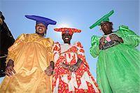Herero tribal girls portrait, Damaraland, Namibia, Africa Stock Photo - Premium Rights-Managednull, Code: 862-06677174