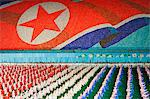 Democratic Peoples Republic of Korea, North Korea, Pyongyang. Performers at the Arirang Mass Games. Stock Photo - Premium Rights-Managed, Artist: AWL Images, Code: 862-06677206