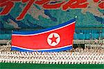 Democratic Peoples Republic of Korea, North Korea, Pyongyang. Performers at the Arirang Mass Games. Stock Photo - Premium Rights-Managed, Artist: AWL Images, Code: 862-06677248