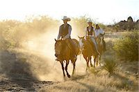 Apache Indians and Cowboys, Apache Spirit Ranch, Tombstone, Arizona, USA Stock Photo - Premium Rights-Managednull, Code: 862-06677539