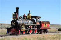 steam engine - Golden Spoke National Monument, Brigham City, Utah,  USA Stock Photo - Premium Rights-Managednull, Code: 862-06677609