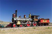 steam engine - Golden Spoke National Monument, Brigham City, Utah,  USA Stock Photo - Premium Rights-Managednull, Code: 862-06677620