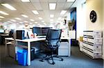 view of empty office cubicle work station Stock Photo - Premium Rights-Managed, Artist: Andrew Kolb, Code: 700-06679314