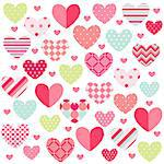 Happy Valentine's Day Stock Photo - Royalty-Free, Artist: lemony                        , Code: 400-06685843