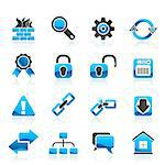 Internet and web site icons - vector icon set Stock Photo - Royalty-Free, Artist: stoyanh                       , Code: 400-06686691