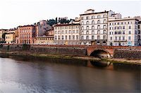 Arno River Embankment in the Early Morning Light, Florence, Italy Stock Photo - Royalty-Freenull, Code: 400-06692552