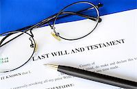 Last Will and Testament concept of estate planning Stock Photo - Royalty-Freenull, Code: 400-06693775
