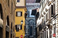 Histroical Houses Facades in Florence, Italy Stock Photo - Royalty-Freenull, Code: 400-06696333