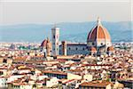 View of city skyline and Basilica di Santa Maria del Fiore, Florence, Tuscany, Italy Stock Photo - Premium Rights-Managed, Artist: F. Lukasseck, Code: 700-06701744