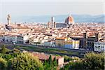 View of city skyline and Basilica di Santa Maria del Fiore, Florence, Tuscany, Italy Stock Photo - Premium Rights-Managed, Artist: F. Lukasseck, Code: 700-06701746